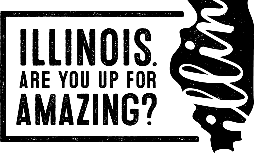 Logo - Illinois Are You Up for Amazing?