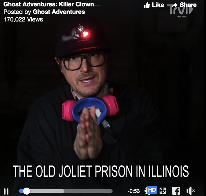 VIDEO:  A Preview of Ghost Adventures from Old Joliet Prison